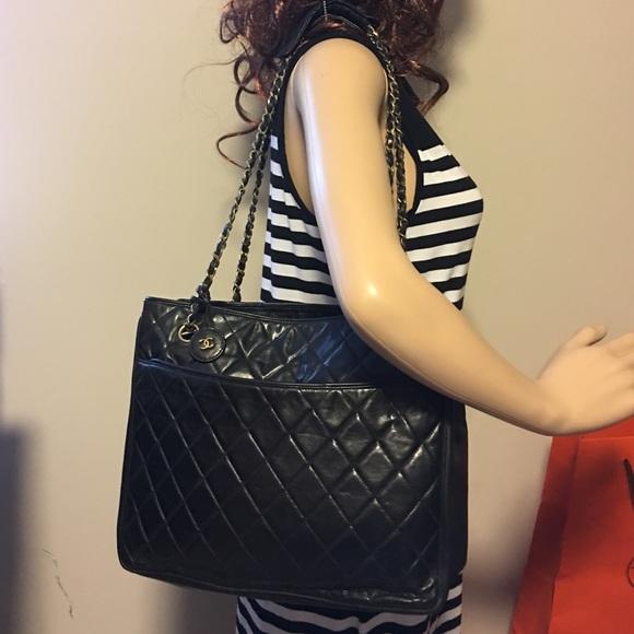 ae0a2a0b81c2 CHANEL Handbags - Chanel Lambskin double chain cc charm shoulder Bag