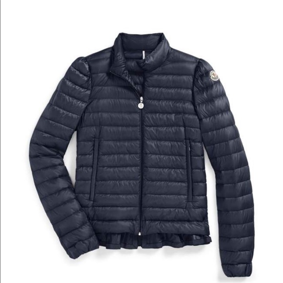 34303c7d4 Moncler Women ruffle Down Jacket