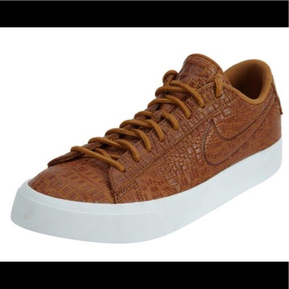 special for shoe new concept cheap Nike Blazer Studio Low Mens Croc Stamped Sneakers NWT