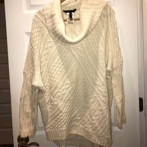 Bcbg cable knit sweater