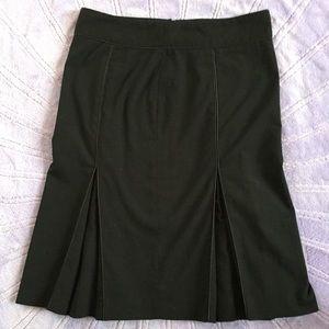 Zara Basic Black pleated Skirt