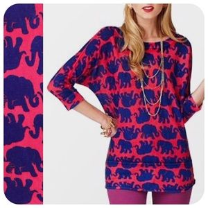 {{ Lilly Pulitzer }} Marching Elephants Sweater