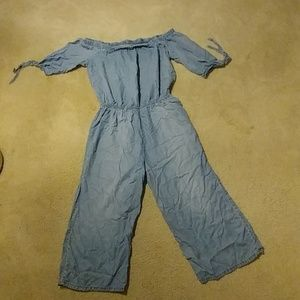 Mossimo Supply Co. Pants - Light blue jean jumper