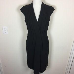 Hugo Boss Faux Wrap Dress