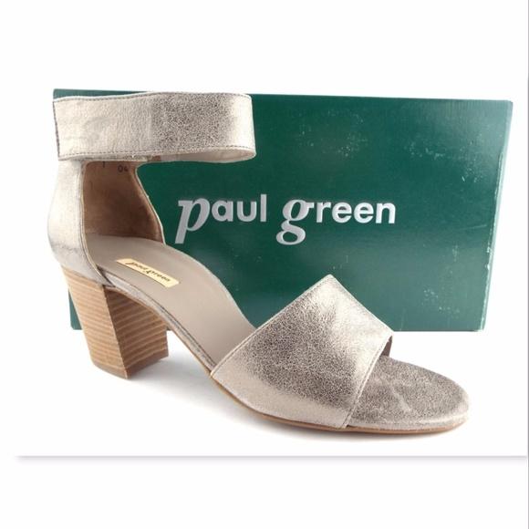 75d0db0e77c New PAUL GREEN Silver Metallic Sandals 6UK / 8.5US.  M_5a094618a88e7d2f7815e968