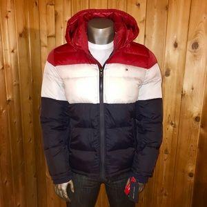 NWT! Tommy Hilfiger Hooded Men's Winter Jacket