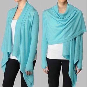 Lululemon SILK Blend Zen Wrap Sweater Cardigan