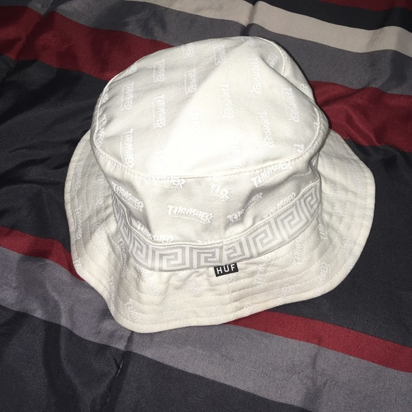 8b7951d61f3 Huf x Thrasher Bucket Hat. M 5a0964f456b2d6ef0d114f63. Other Accessories ...