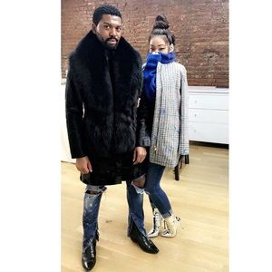 Jackets & Blazers - Pony Skin & Fox Fur Collar Coat (Custom) 🦊TRADE