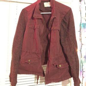 Rue 21 Red Jean Jacket - Size XL