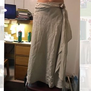 Christopher and Banks Long Flowy Skirt Size 8