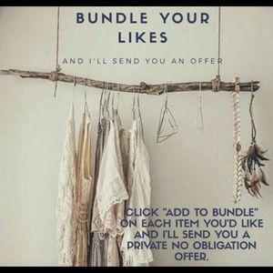 Bundle Your Likes And I'll Send You An Offer💕