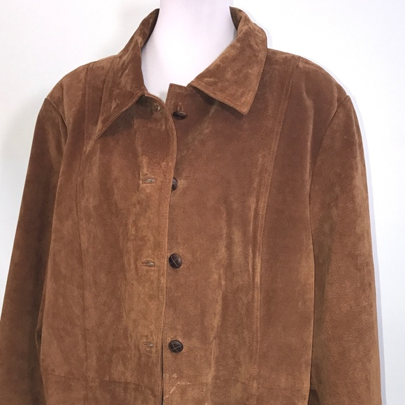Lane Bryant Jackets & Blazers - Lane Bryant Woman's Coat Brown 26W/28W - CLEARANCE