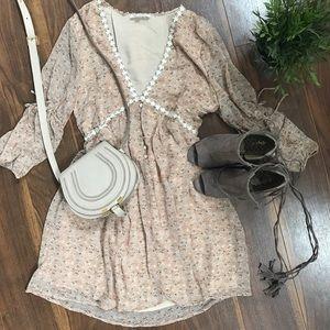 Dresses - Floral Boho Dress Small & Large Size