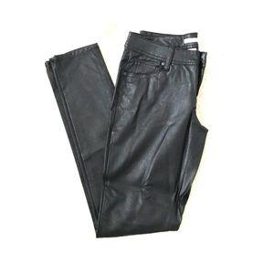 Never worn black leather pants