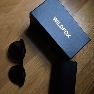 Wildfox sunglasses black Harper zero new in box