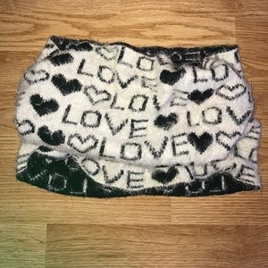Nwot Juicy Couture neck warmer