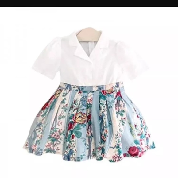 8e5a9c147a9 Little girls floral dress