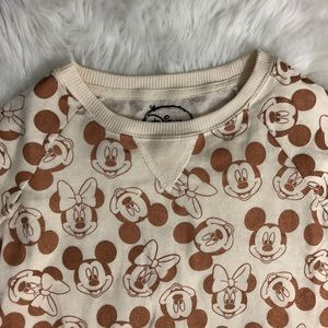 Disney Shirts & Tops - Disney • Mickey Minnie Crew Sweatshirt