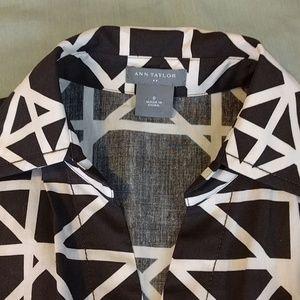 Ann Taylor Dresses - LOWEST! Ann Taylor Geometric Shirt Dress