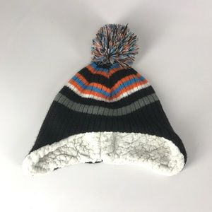4462be50d85 target Accessories - Warm fleece lined toddler Knit cap with ball