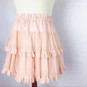 American Apparel tulle skirt