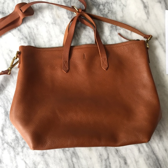401f9565aa Madewell Handbags - Madewell Zip-Top Transport Tote