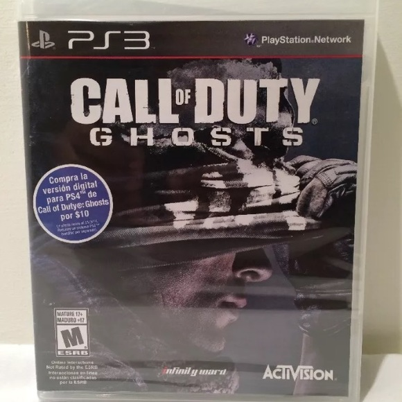 Call of duty Ps3 game