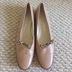 Salvatore Ferragamo leather shoes