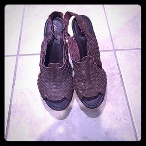 Amazing leather heels