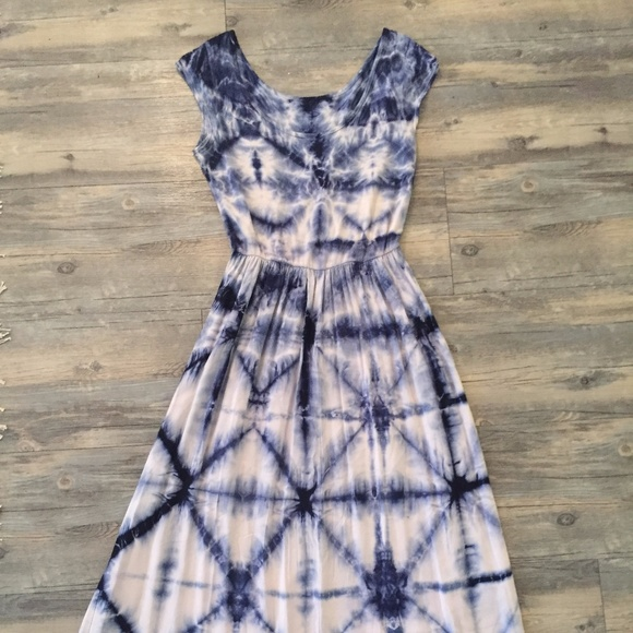 59099179600ba Anthropologie Dresses | The Odells Skyscape Maxi Dress | Poshmark