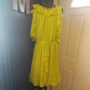 Ruffle Dress - Prabal Gurung (target) sz 10 REPOSH