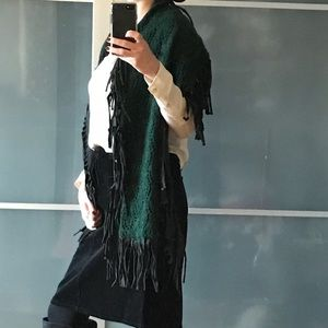 Accessories - Move Out sale. Statement fringed scarf wrap