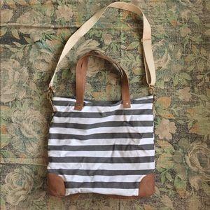 Striped Merona Tote Bag