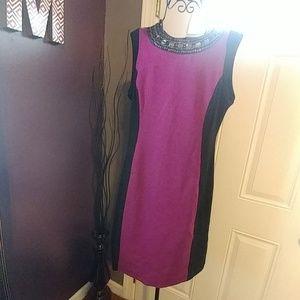 Nicole Miller Bodycon Dress sz Large