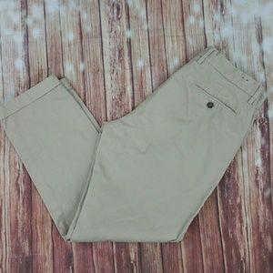 J CREW Classic Fit Cargo Khaki Pants Sz 32W 30L