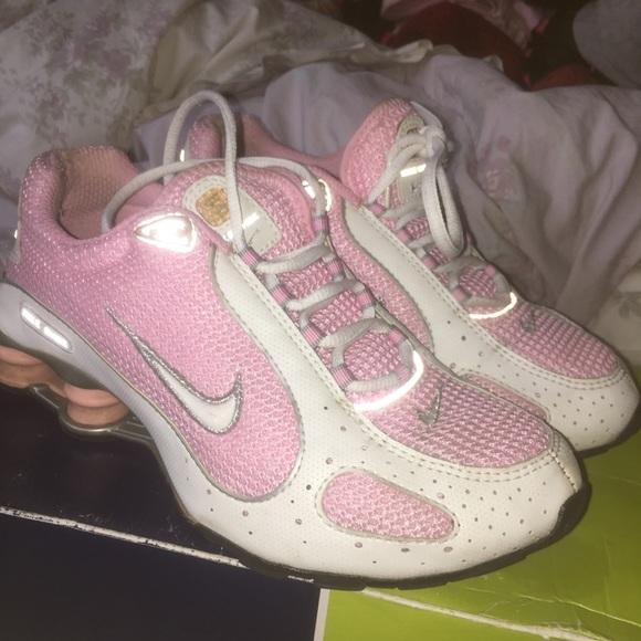 Nike Shoes | Pink Nike Shox Sneakers