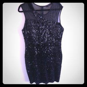 Fashion to Figure Black Stretchy Dress