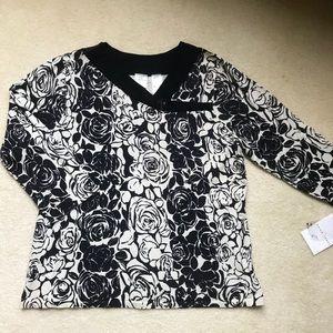 GorgeousPattern Silk Blend Lightweight Sweater