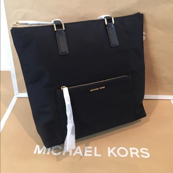 e4a4da7fffdc Michael Kors Bags | Ariana Large Ns Tote Black | Poshmark