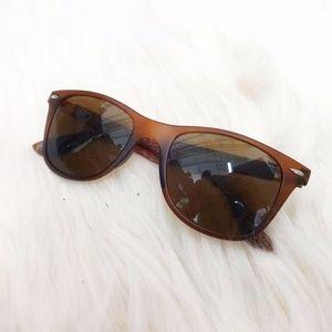 """""""Wood"""" Arm Sunglasses"""