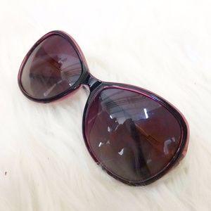 Purple Jeweled Sunglasses