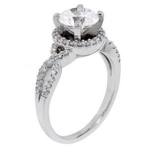 Diamond Nexus Jewelry Magnolia Engagement Ring Poshmark