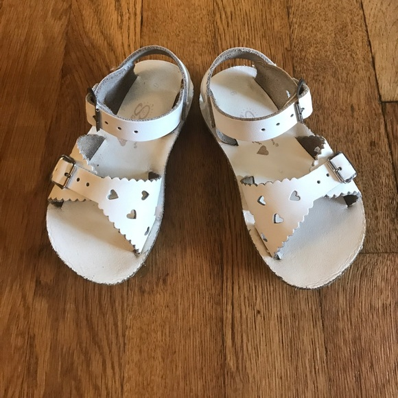 d50dc2b6b Salt Water Sandals by Hoy Shoes | White Sweetheart Sunsans | Poshmark