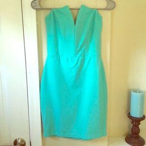LuLu's turquoise dress
