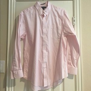 NWOT Lands End No Iron Pinpoint Oxford