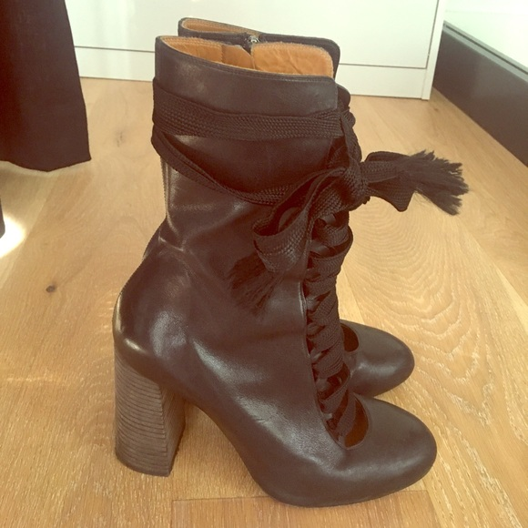 e4021386 Chloe Harper Ankle boot lace up