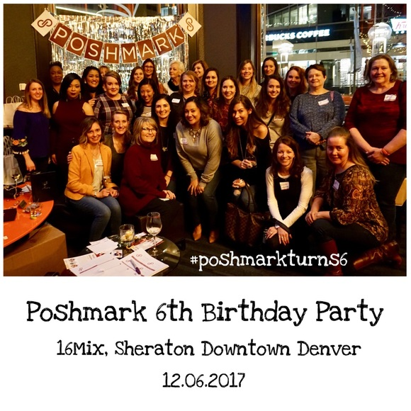 PoshmarkTurns6 Other - Thank You for Joining Denver Poshmark 6th Birthday
