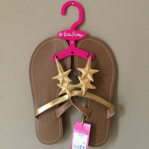 NWT Lilly for Target Starfish Sandals