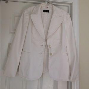 White Escada blazer jacket